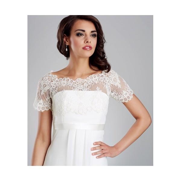 Svadobné bolerka - Najsvadobné šaty - svadobné a spoločenské šaty ... 0c304ae9e33