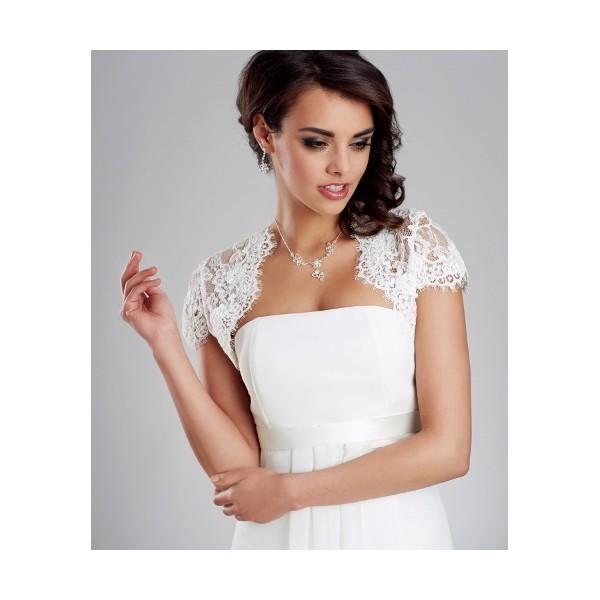 Svadobné bolerko 21 - Najsvadobné šaty - svadobné a spoločenské šaty ... 18849587451