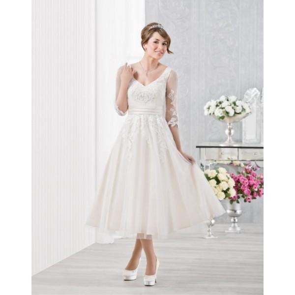 cb4627e5f80f Krátke svadobné šaty - Najsvadobné šaty - svadobné a spoločenské ...