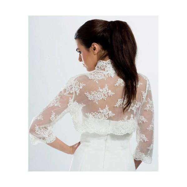 Svadobné bolerko 12 - Najsvadobné šaty - svadobné a spoločenské šaty ... 5de85bda70d
