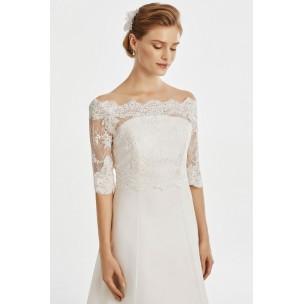 Svadobné bolerko 10 - Najsvadobné šaty - svadobné a spoločenské šaty ... fd30b69b213