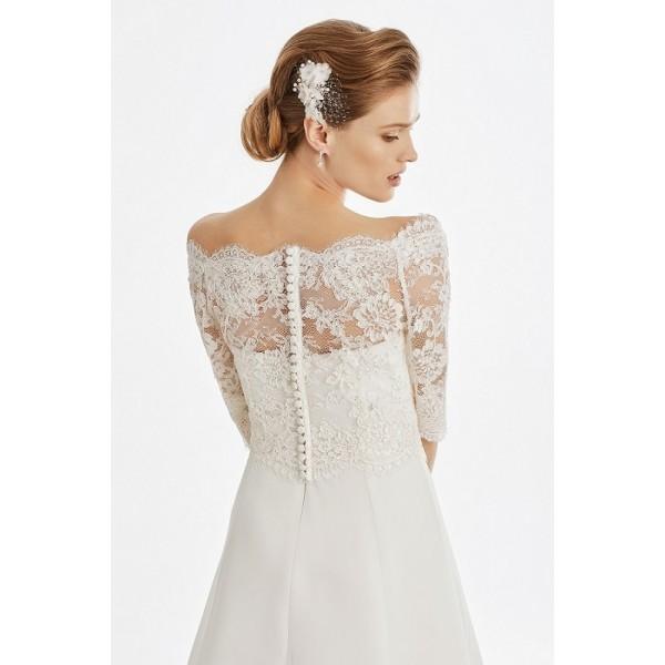 Bolerko pre moletky 55S - Najsvadobné šaty - svadobné a spoločenské ... a017d8bf1cc